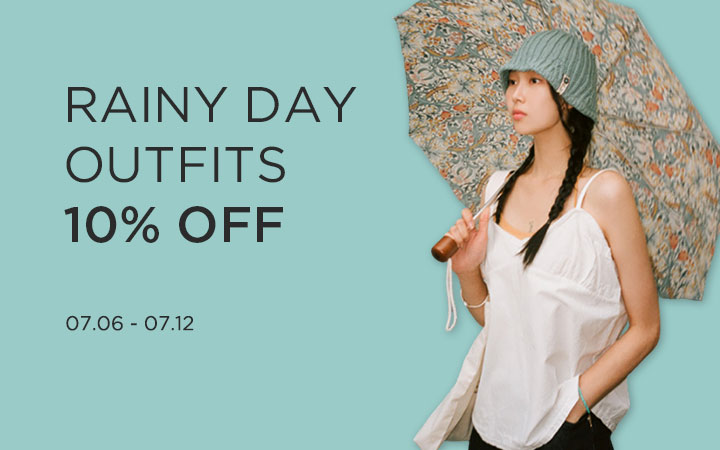 BANHARU RAINY DAY OUTFITS 10% OFF