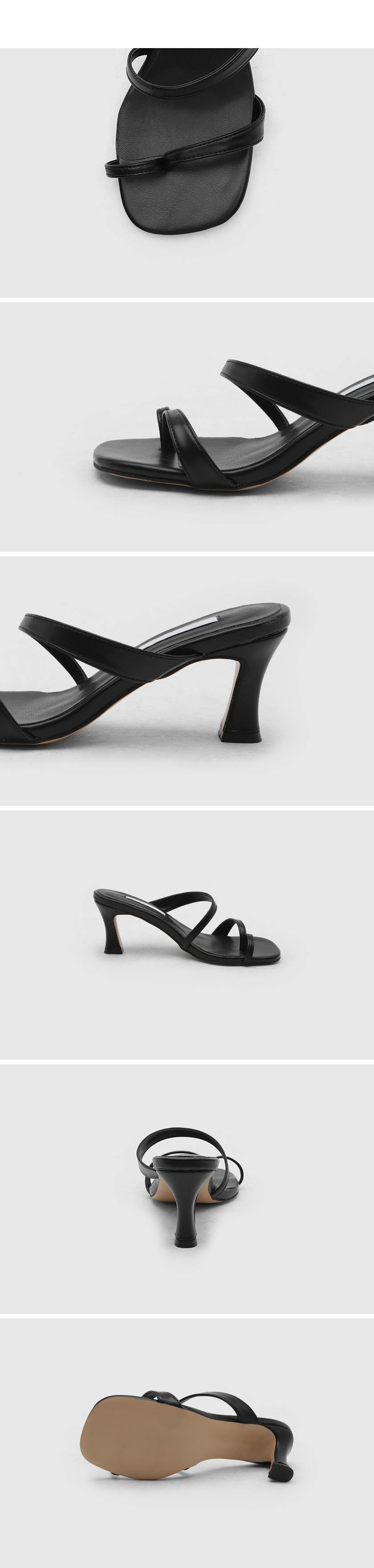 ronards strap sandals mules