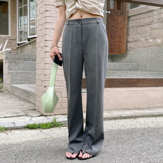 Danes semi Flared long slacks
