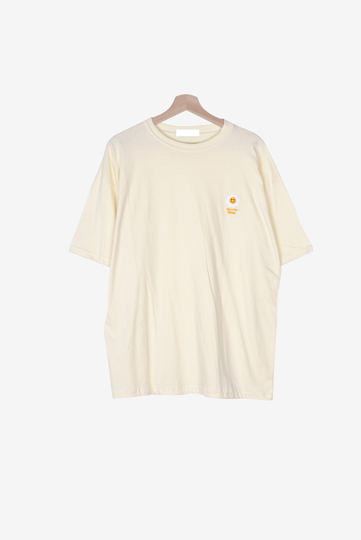 55-99 Happy Daisy Round Short Sleeve Tee