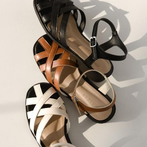 SDLTR2d136 with Crown Weaving Strap Sandals