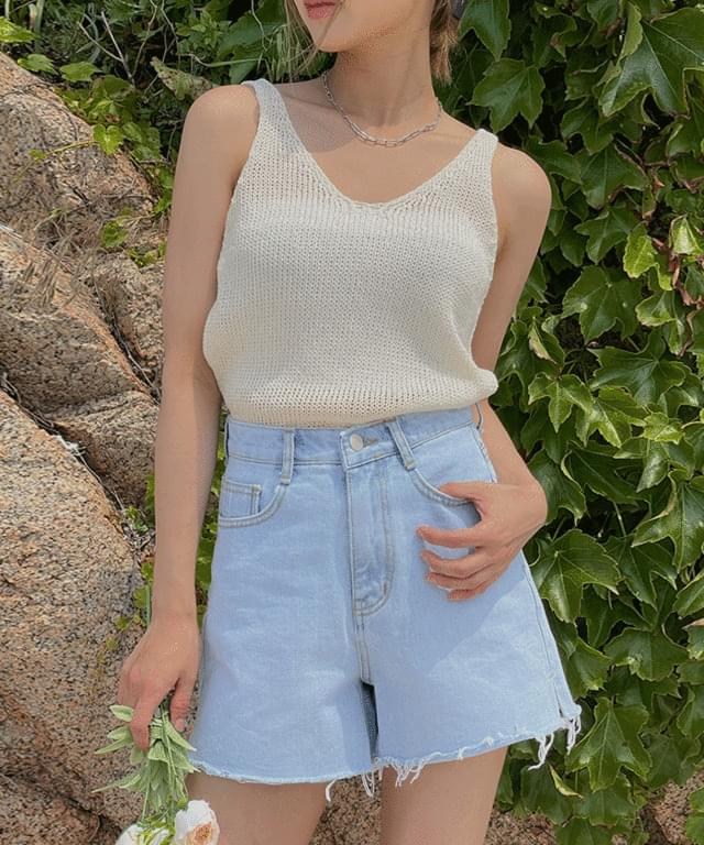 Melion Summer Knitwear Sleeveless