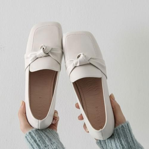 Monte Twisted Ribbon Loafers SE LFLTS1d039