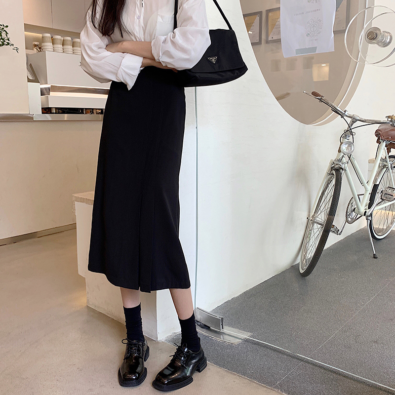sk5167 Marshall Pleated Point Midi Skirt