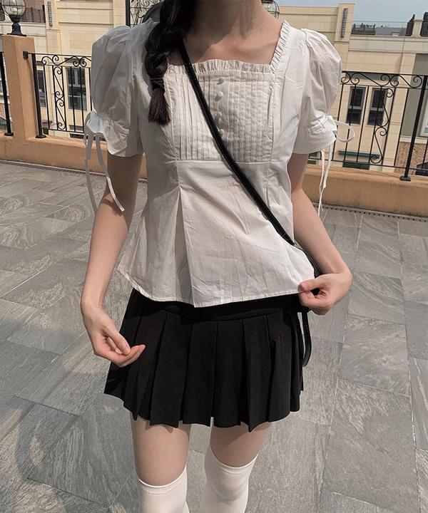 Princess square blouse