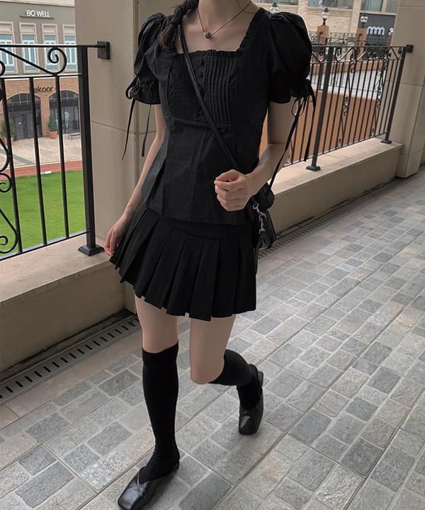 Mimi pleated tennis skirt