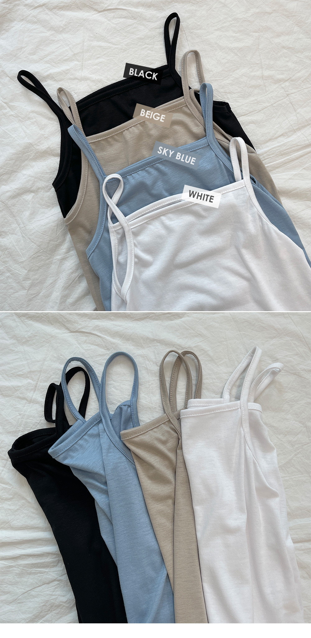 Good for daily use, basic straight string Sleeveless