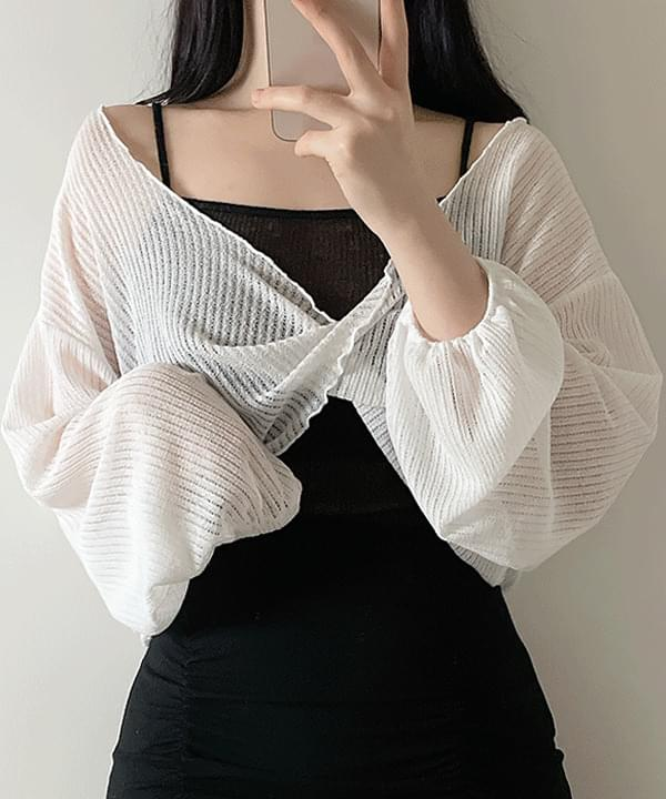 Doremi Knitwear + String Sleeveless 3color