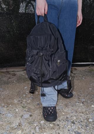 stopper string backpack