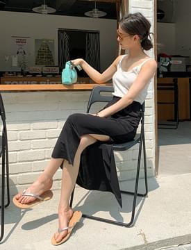 Easy Cooling Banding Long Skirt