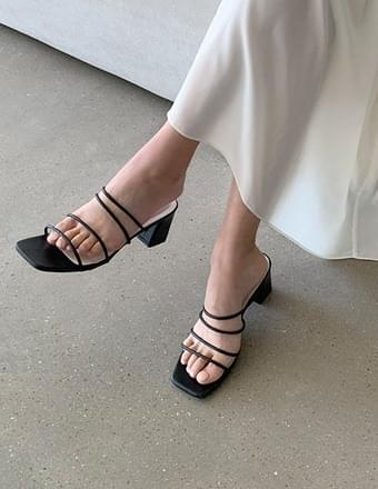韓國空運 - General* Strap Mule Slippers 涼鞋