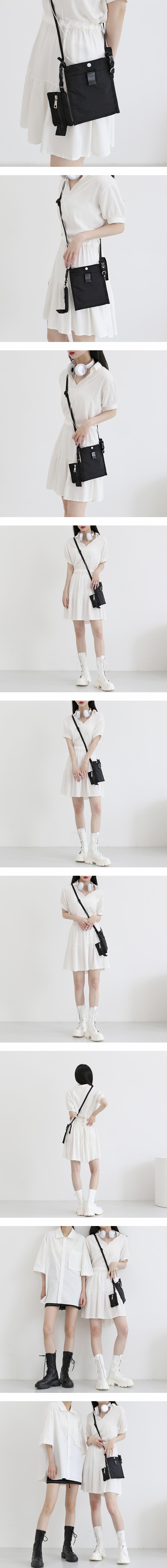 creep pocket mini crossbody bag