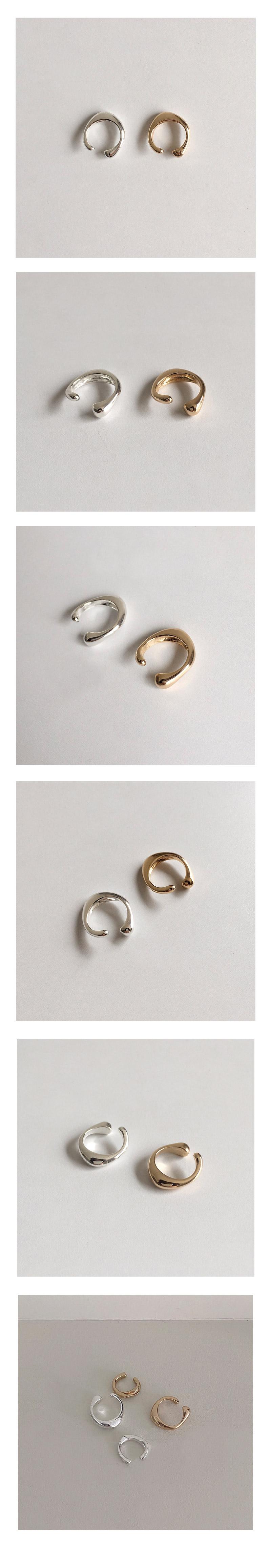 golden earcuff