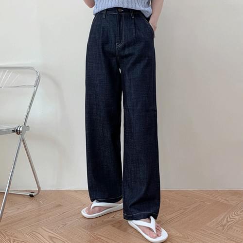 Boy Raw Pintuck Wide Pants P#YW644
