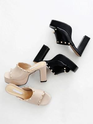 Glam chic mules slippers 10cm