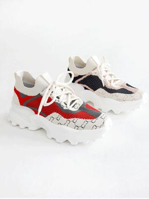 Butterfly Ugly Socks Sneakers 5cm