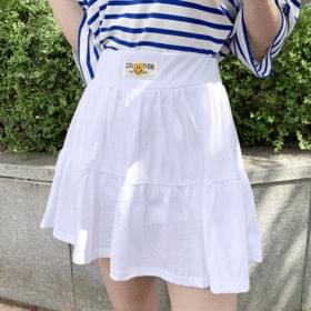 Smile Mini Cancan Banding Skirt