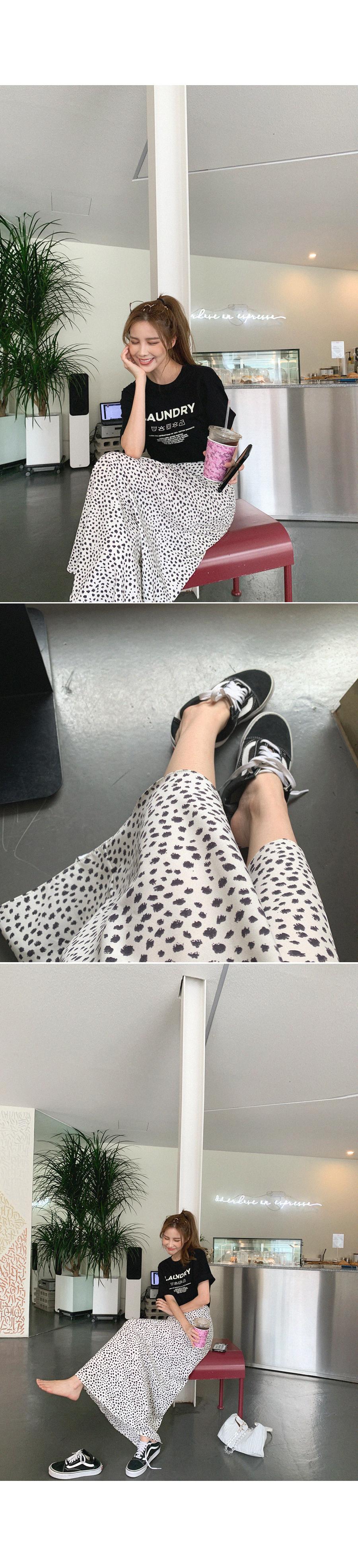 Women's Leopy Maxi Long Skirt
