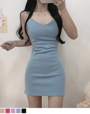 Manito Sleeveless Slim Dress