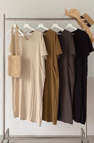 # Heat wave plan washer pigment pocket Dress