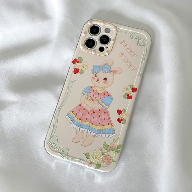 Sweet Bunny Rabbit iPhone Case