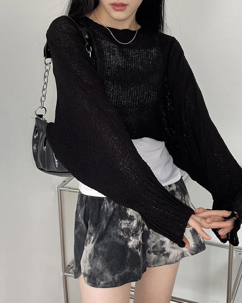 Mocas Boucle Bolero Crop Knitwear