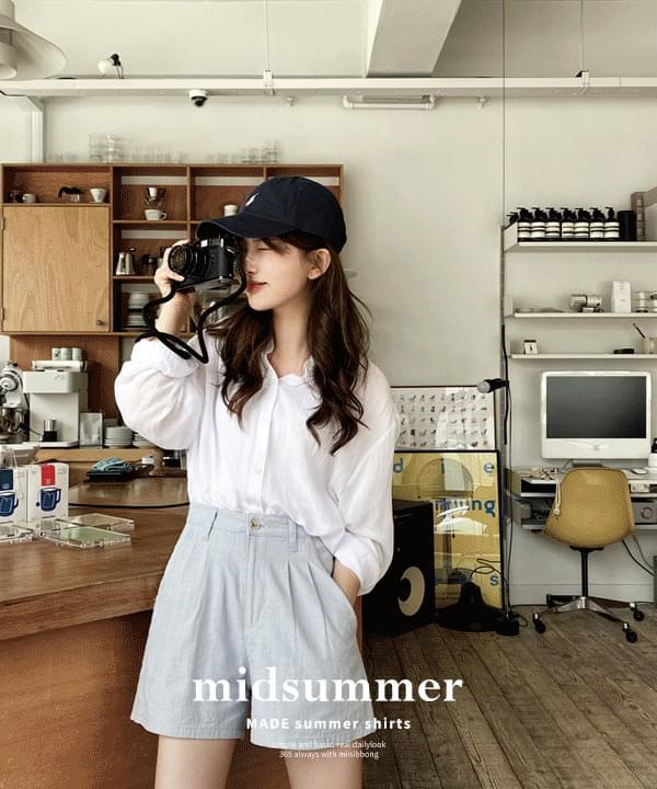 Midsummer Natural Basic Shirt