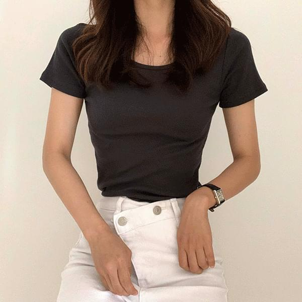 Multiple Small Angle Multicolor Short Sleeve T