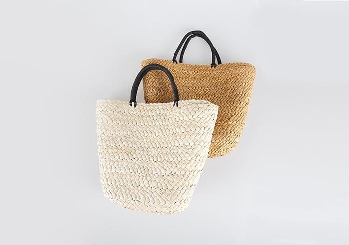 sale) natural basket tote bag