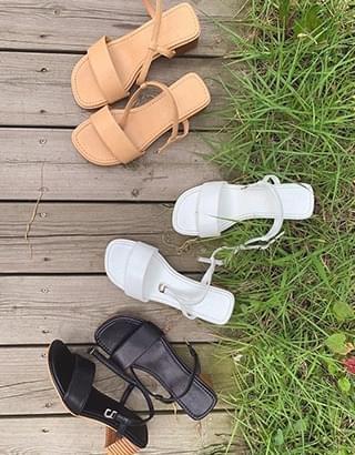 SHALLOT Strap sandal (3colors&2types)