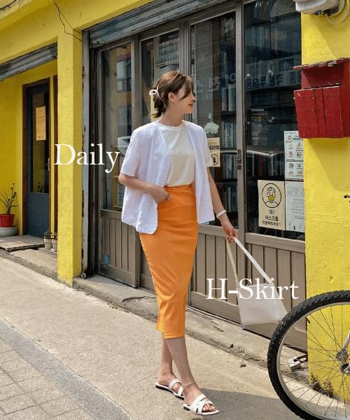 H color skirt - 5color