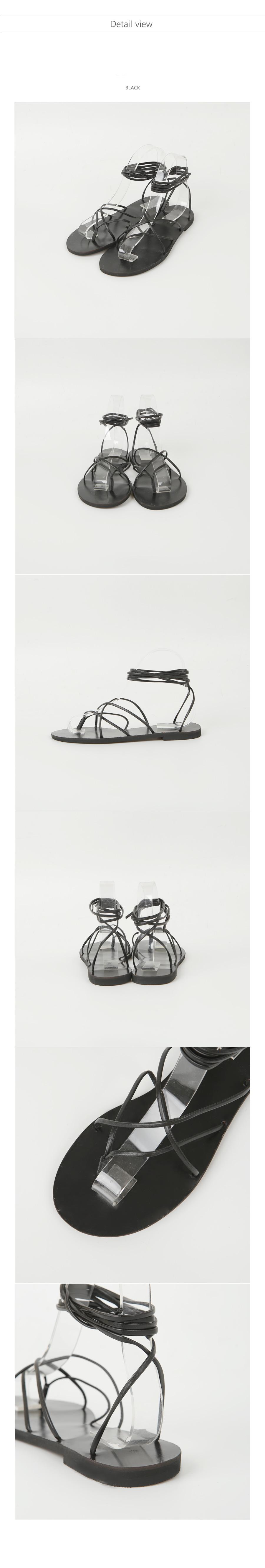 tie strap sandals