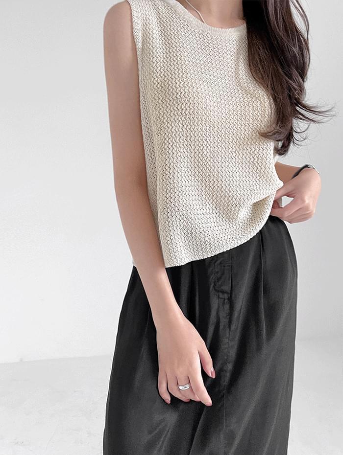 Haren Sleeveless Knitwear