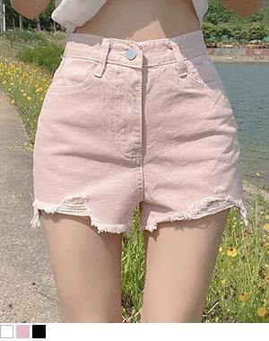 K-Unbale Cut Short Pants