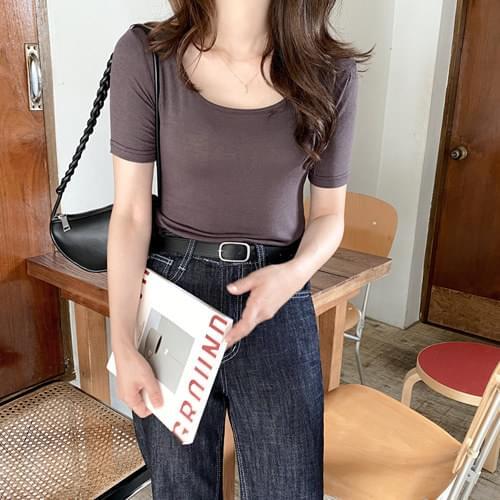 Moresoft Square Slim T-shirt