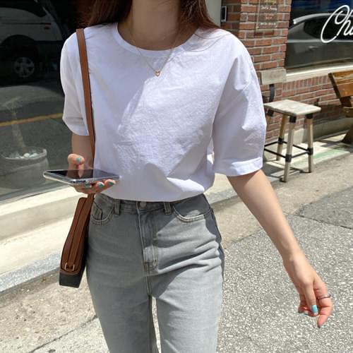 Purity Cotton Short Sleeve Blouse