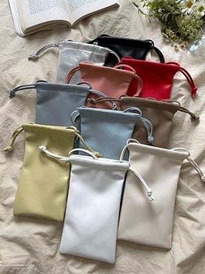 with string mini bag