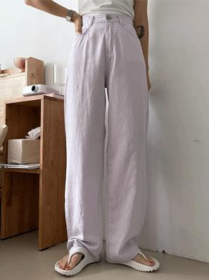 Real Cotton Ma wide Pants