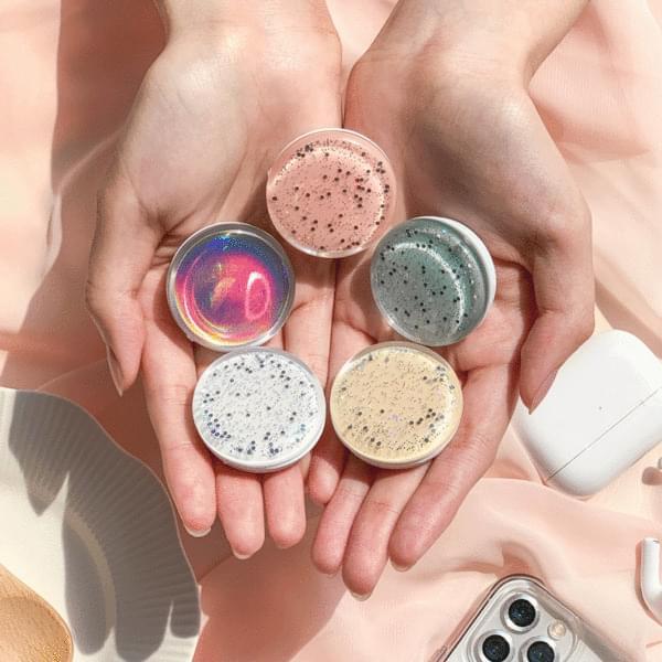 Hologram Glitter Pearl Grip Talk Smart Ring Holder