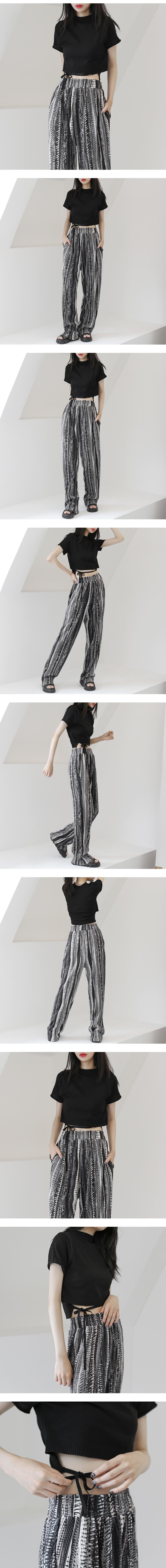 Handel Strap Short Sleeve Knitwear