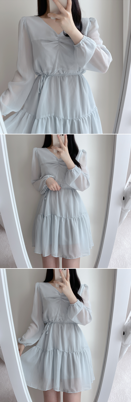 Lilt cancan flare Dress 4color