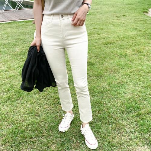 Hook Daily Slim Date Pants - Natural Beige M, XL Blue Gray XL Ivory S, L Same Day Shipping