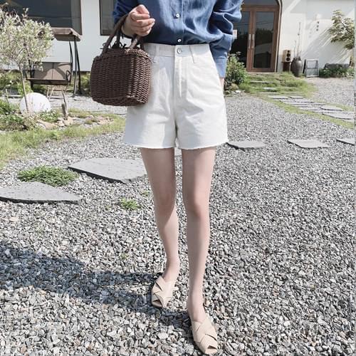 Cracker Daily Cotton Short Pants - Black L Same Day Shipping