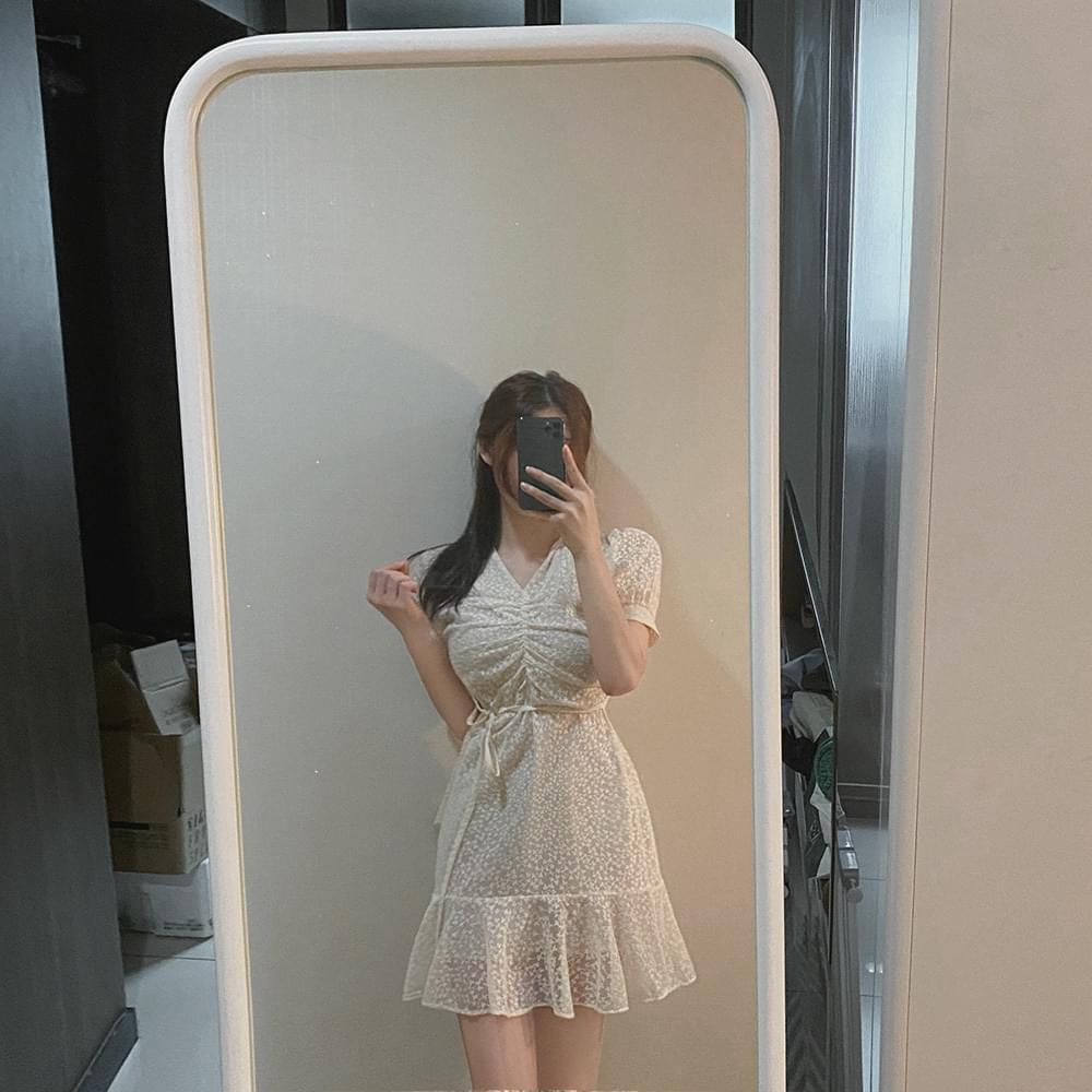 summer small flower lace Dress