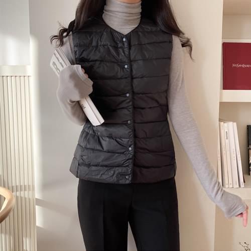 Light Duck Down Lightweight Padded Vest