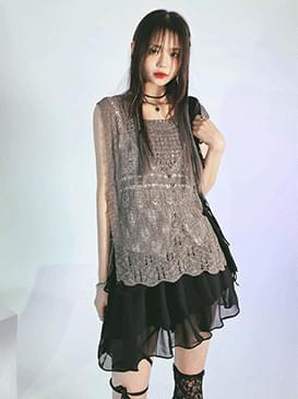 Layered Rocha Knitwear Sleeveless