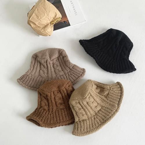 Joseph Cable Knit Bucket Hat