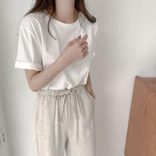 Marble Bio Cotton Basic T-shirt