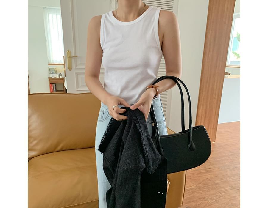 Unique Half Moon Shoulder Bag