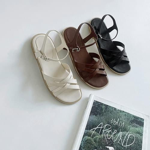 Jelly bean strap sandals